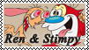Ren Y Stimpy Stamp by LUIAR