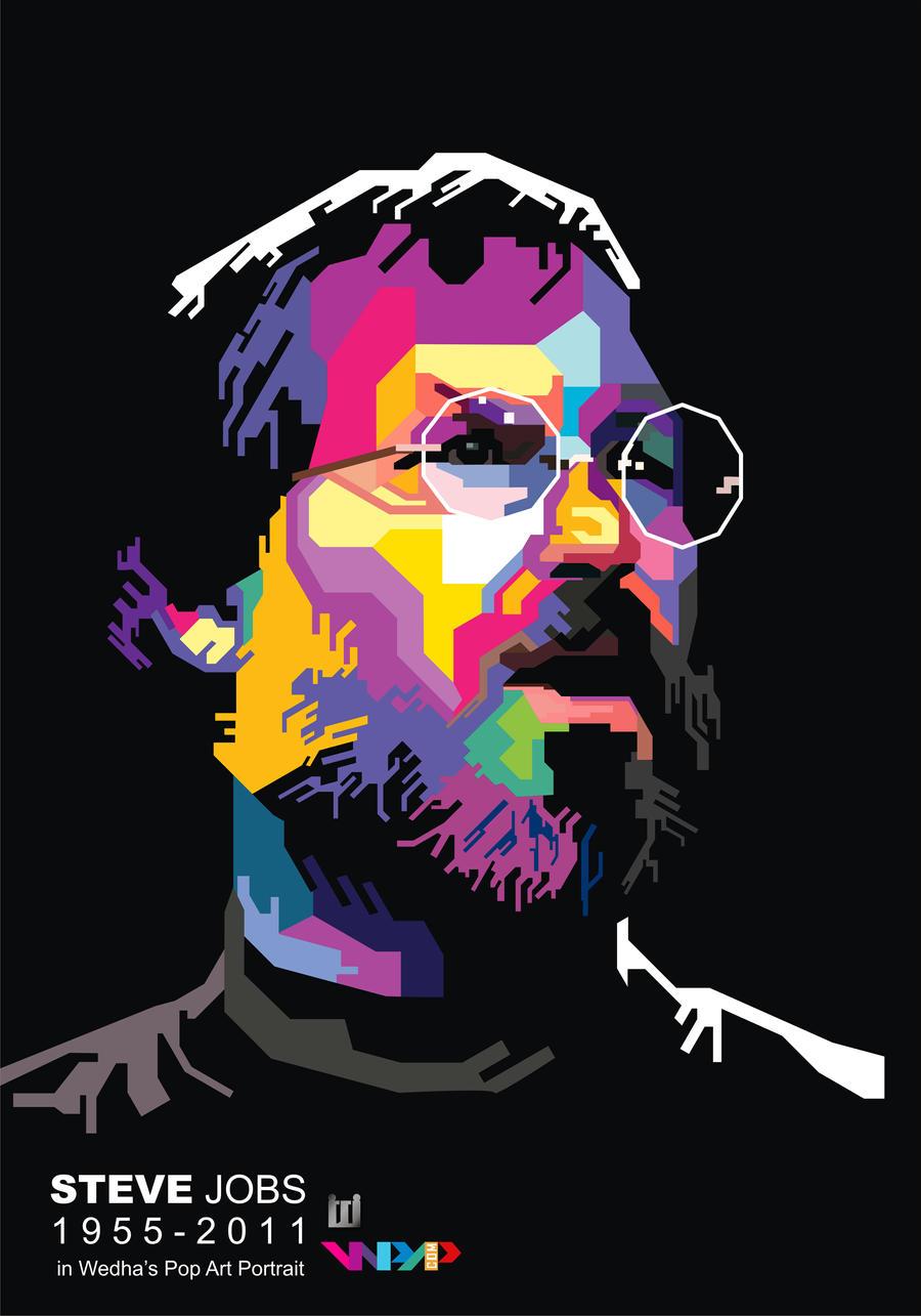 Steve jobs in wpap by widikurniawan on deviantart - Jabsin design ...