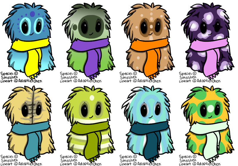 Scarfblob FREE Adopts CLOSED by Adoptierchen