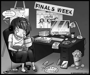 Exam week by moral-extremist