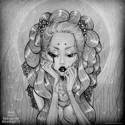 mermaid hair by moral-extremist
