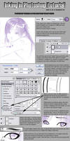 Inking in Photoshop :tutorial: by moral-extremist