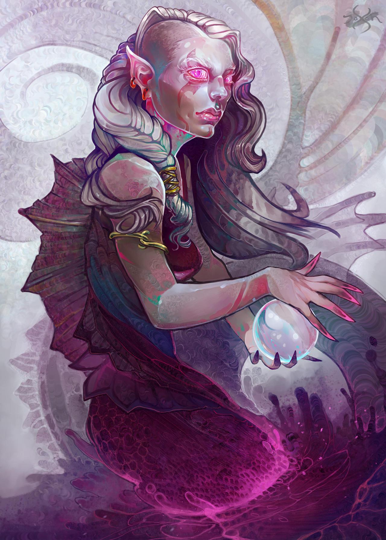 White Pearl Mermaid