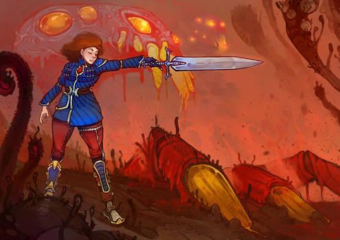 Nausicaa, The great battle