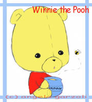 . winnie the pooh . by saru--chan