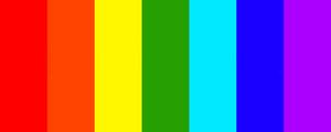 Undertale pride flag 2.0