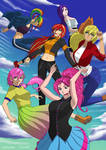 Equestria Girls:Anime poster.no character