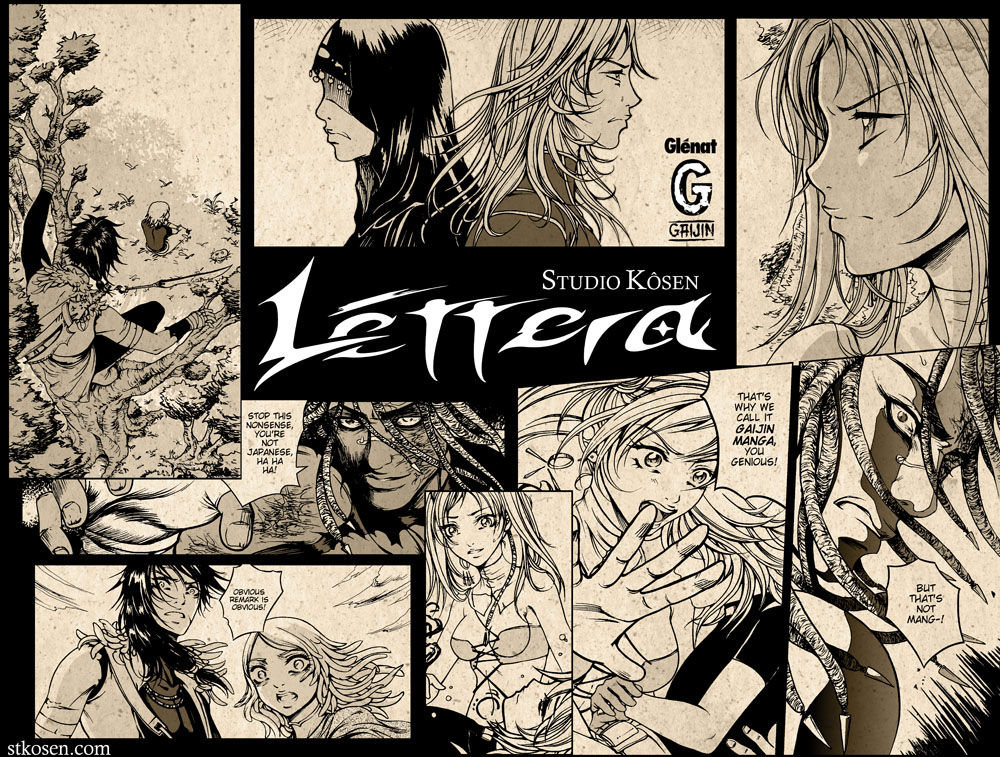Lettera previews by stkosen
