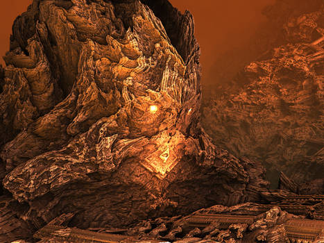The Titan and the Skull Mountain