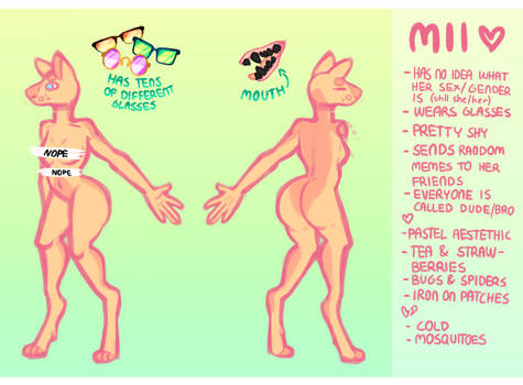Mii Reference 2017