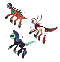 Eyeball creature auctions/adoptables ~2/3 OPEN~