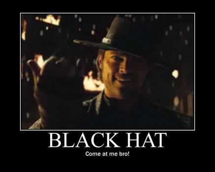 BlackHat demotivational poster