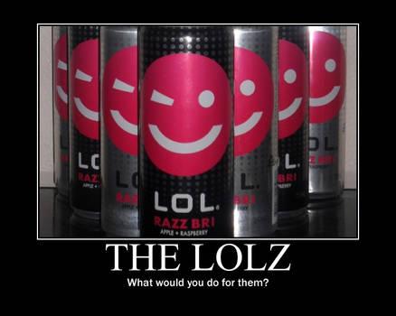 The LOLz demotivational poster