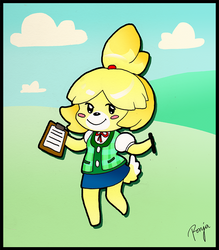 Isabelle by ronjaw