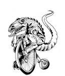 Dino Bike by Fairville1979