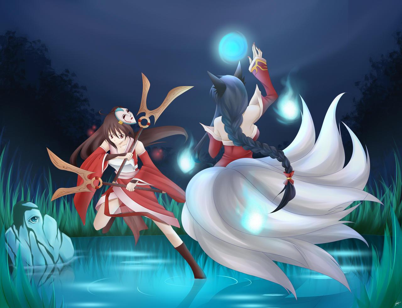 Mystic Duel by Fuyuume