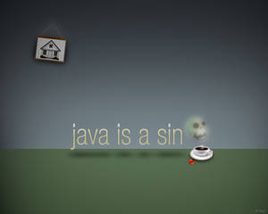 Java is a sin