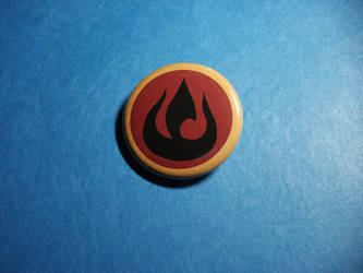 Avatar Fire Nation Button