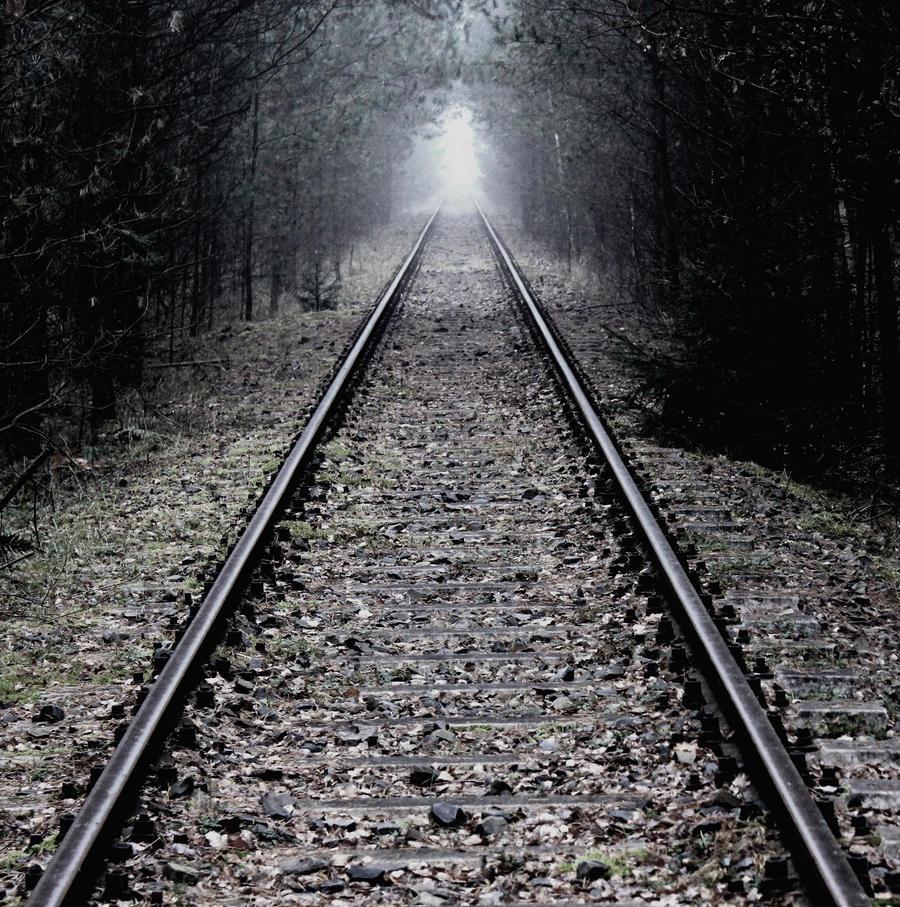 Railway to nowhere by MademoiselleKuuh