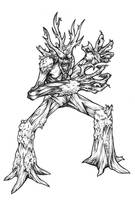 Castlevania: Treant by chimeraic