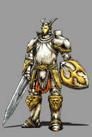 Castlevania: G. Armor Colored by chimeraic
