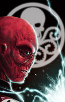 My Skull is RED by chimeraic