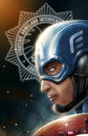My Helmet is BLUE by chimeraic