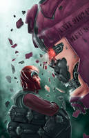 Face Off by chimeraic