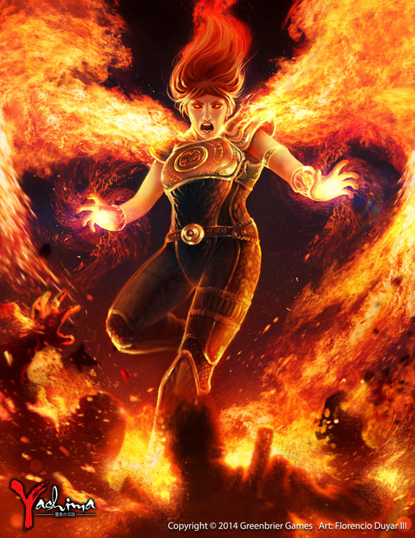 Yashima: Legend of the Kami Masters: Akiko by chimeraic