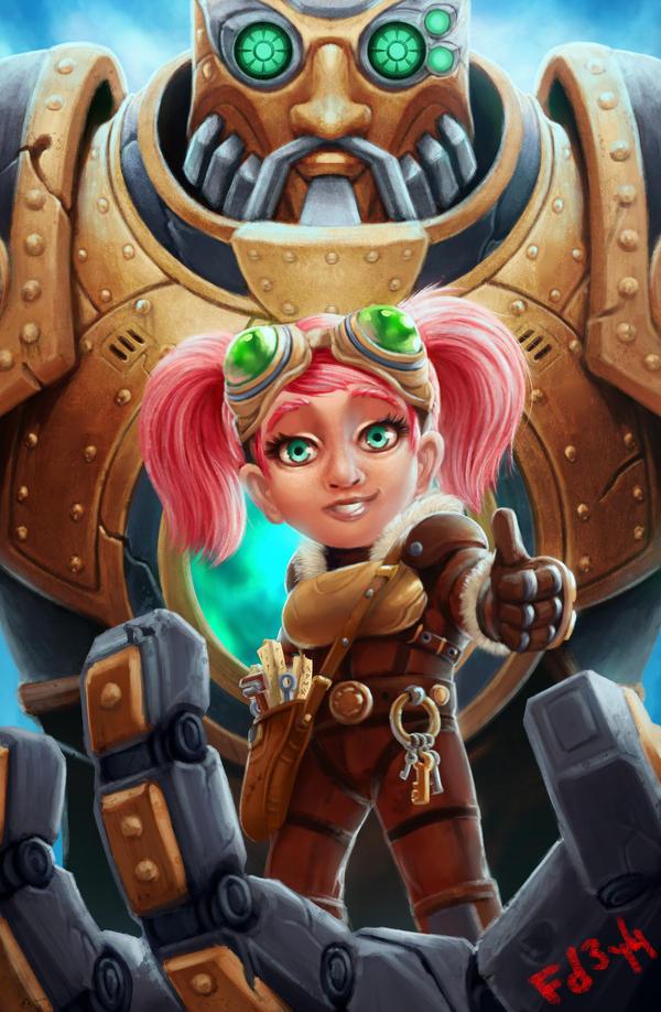 G-Gnome Armor by chimeraic