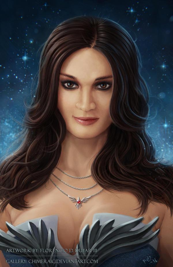 Cosmic Queen by chimeraic