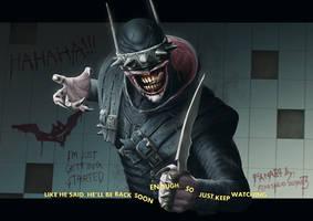Dark Nights: Metal - The Batman Who Laughs by chimeraic