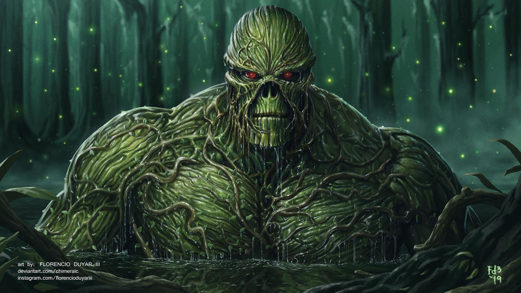 Swamp Thing by chimeraic