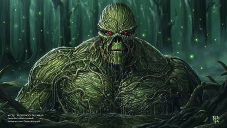 Swamp Thing by chimeraic