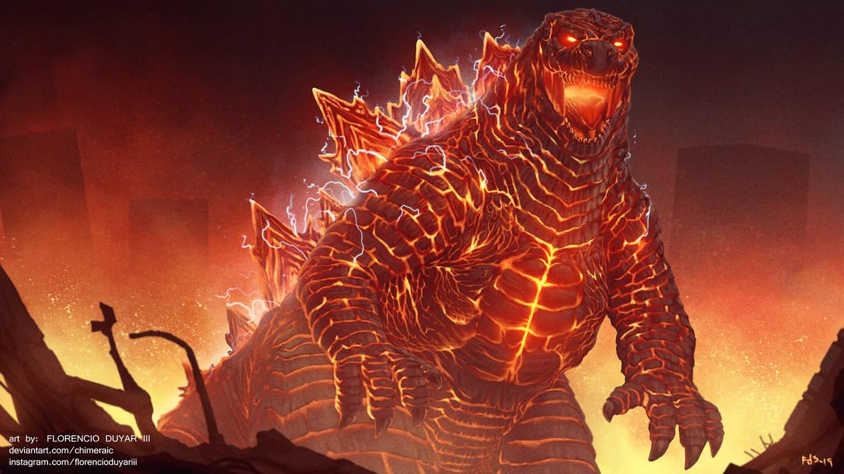 Godzilla: King of the Monsters - Burn, Baby, Burn! by chimeraic