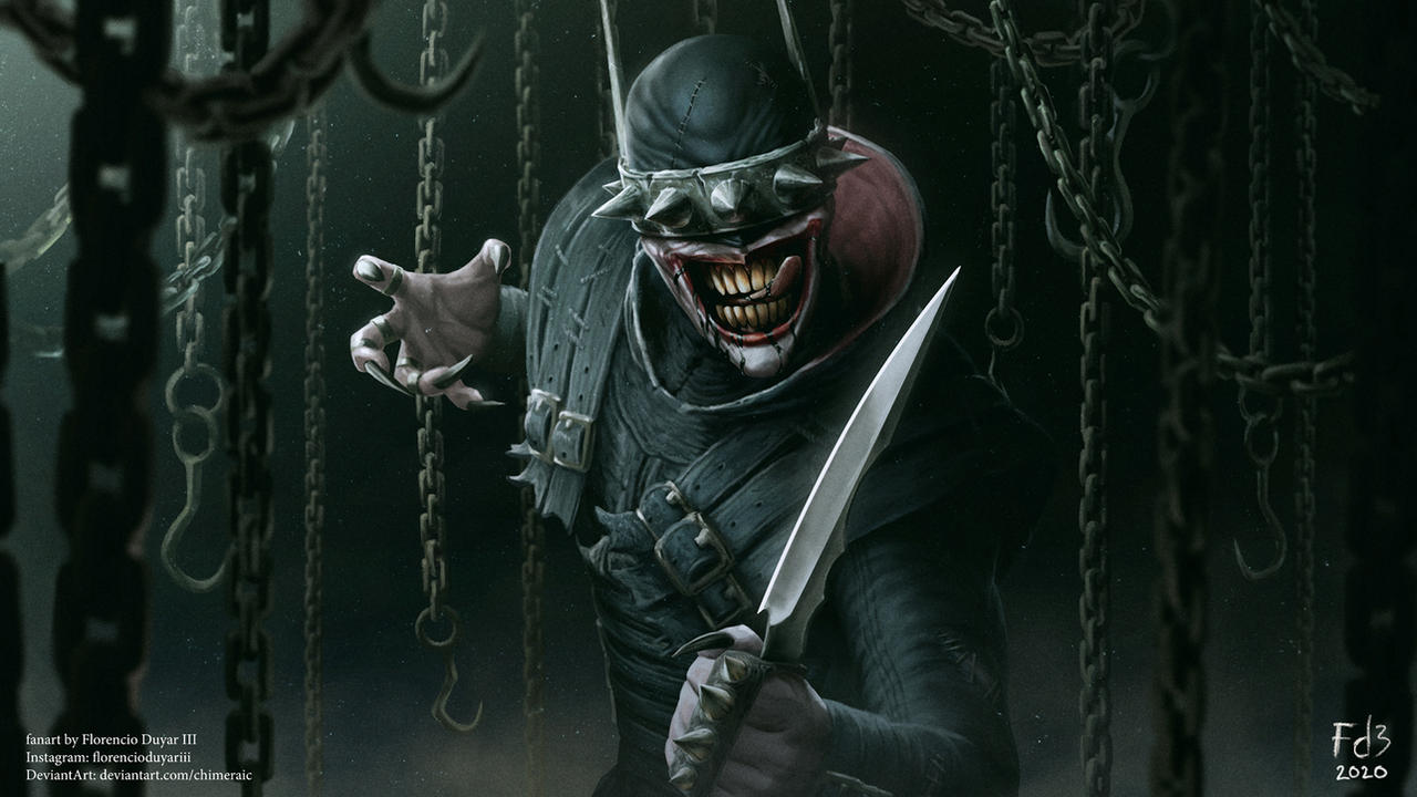 The Batman Who Laughs To The Slaughter By Chimeraic On Deviantart