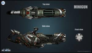 Alien Mini gun