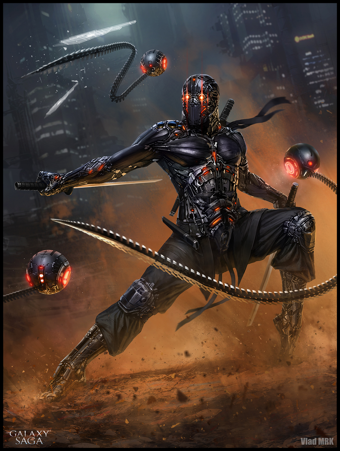 Shamash Ninja - advanced version by VladMRK on DeviantArt