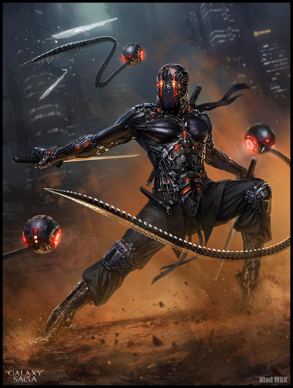 Shamash Ninja - advanced version by VladMRK on DeviantArt