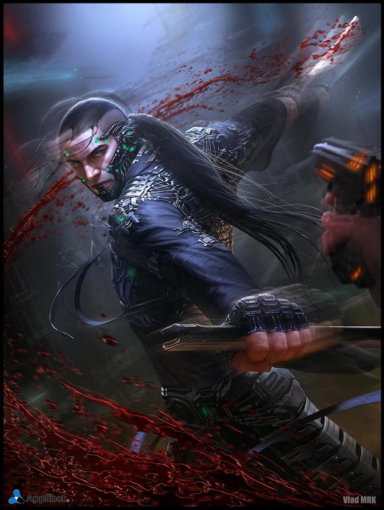 Sci-fi Samurai - Regular version by VladMRK