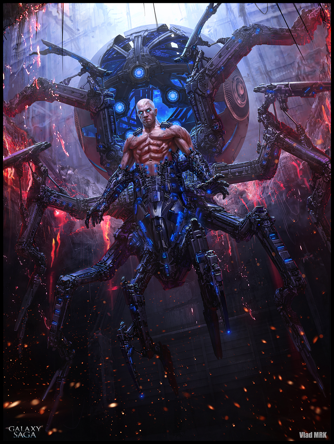 Baal the giant spider - advanced version