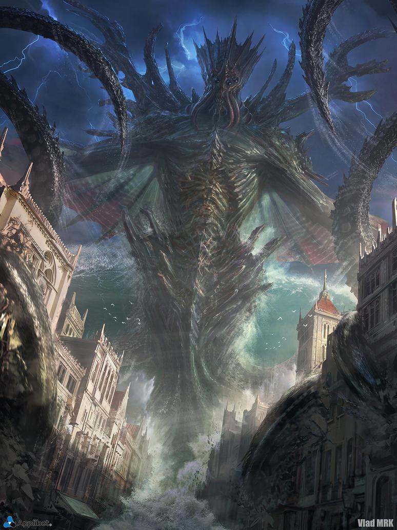 Dagon, the Sea Emperor by VladMRK