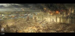 The Siege of Damietta by VladMRK