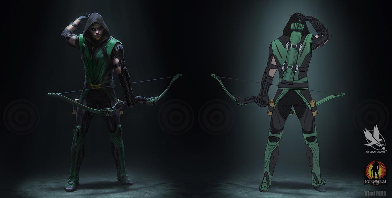 Green Arrow  Redesign by VladMRK