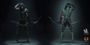 Green Arrow  Redesign