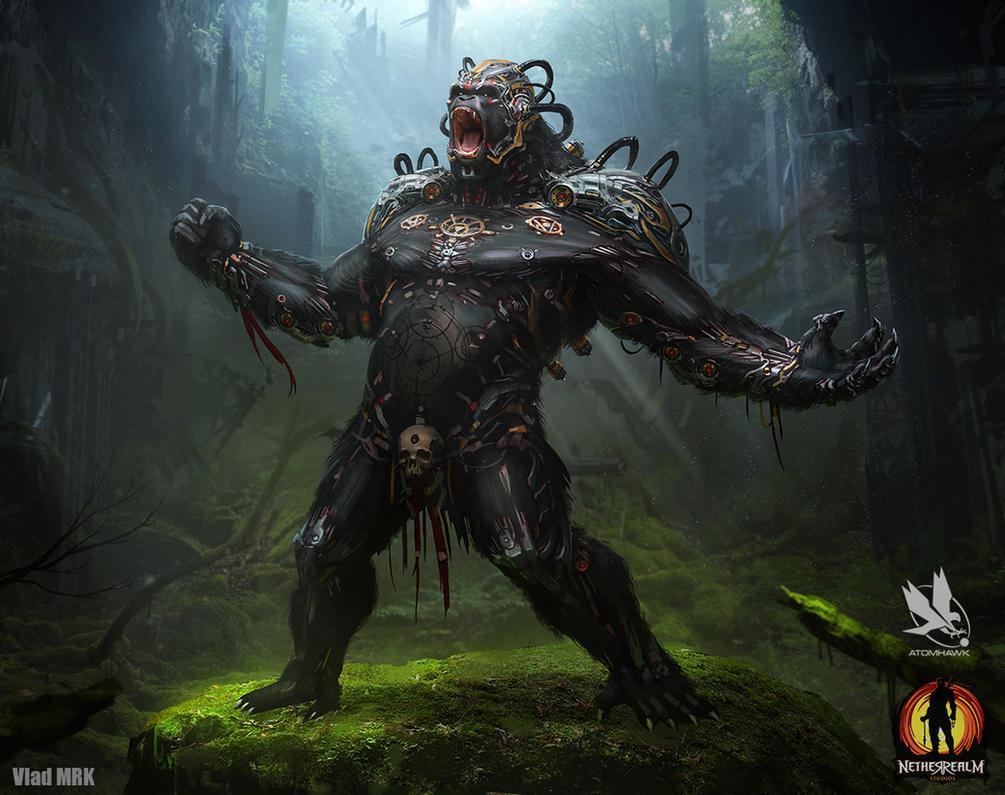 Gorilla Grodd Redesign by VladMRK