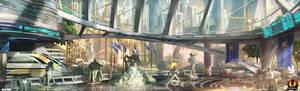 Metropolis Train Station