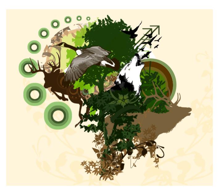 Wildlife Vector by schapiro