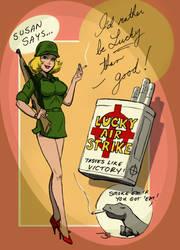Commando Girls - Susan's advert by stvkar
