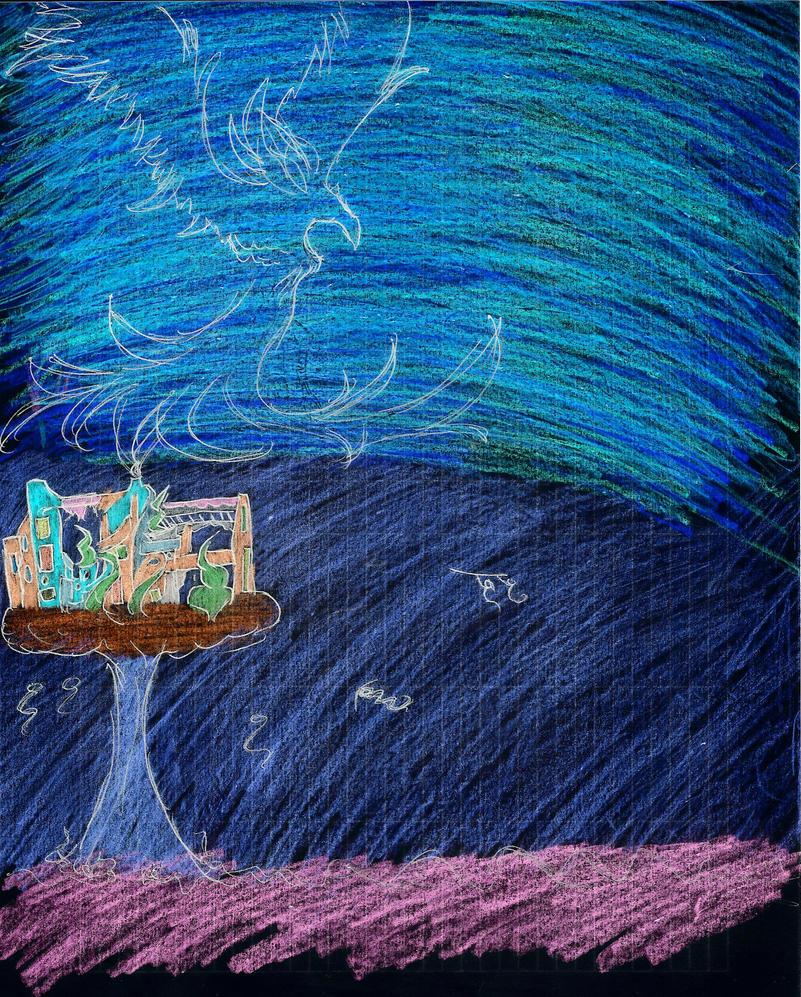 Home at Night by rainingquietly23